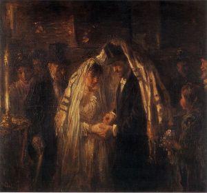 Joseph Israels, A Jewish Wedding, 1903